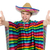 funny young mexican isolated on white stock photo © elnur