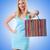 kız · iyi · alışveriş · beyaz · kadın - stok fotoğraf © elnur