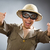 男 · 着用 · サファリ · 帽子 · 面白い · 太陽 - ストックフォト © elnur