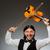 homme · jouer · violon · asian · musicien · permanent - photo stock © elnur