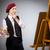 kadın · renkler · portre · genç · kadın · yalıtılmış · renk - stok fotoğraf © elnur