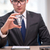 businessman with light bulb in idea concept stock photo © elnur