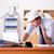инженер · руководитель · рабочих · служба · бизнеса - Сток-фото © elnur