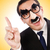 engraçado · empresário · bigode · negócio · cabelo - foto stock © elnur