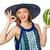 fiatal · lány · eszik · görögdinnye · lány · fiatal · gyönyörű · lány - stock fotó © elnur