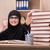 kadın · Müslüman · öğrenci · sınavlar · kız · kitaplar - stok fotoğraf © elnur