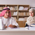 pair of arab man and woman stock photo © elnur