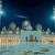 cami · akşam · Birleşik · Arap · Emirlikleri · Abu · Dabi · gökyüzü · ibadet - stok fotoğraf © elnur
