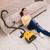 женщину · ковер · устал · очистки · пылесос - Сток-фото © elnur