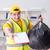 человека · очистки · служба · мусора · сумку - Сток-фото © elnur
