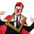 смешные · портрет · superhero · моде · дизайна · фитнес - Сток-фото © elnur