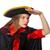 mooie · piraat · meisje · carnaval · kleding · geïsoleerd - stockfoto © elnur