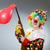 clown · balon · karabin · funny · działalności · strony - zdjęcia stock © elnur