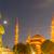 este · kilátás · Isztambul · Törökország · Szófia · éjszaka - stock fotó © elnur