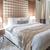 modern · yatak · odası · yatak · lamba · tablo - stok fotoğraf © elnur