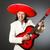 молодые · певицы · гитаре · белый · музыку · вечеринка - Сток-фото © elnur