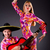 espanhol · par · jogar · guitarra · dança · família - foto stock © elnur
