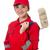 женщины · красный · краской · древесины · строительство · дизайна - Сток-фото © elnur