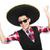 komik · Meksika · geniş · kenarlı · şapka · müzik · parti · gitar - stok fotoğraf © elnur