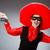 persona · sombrero · sombrero · funny · suicidio - foto stock © Elnur
