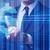 zakenman · voortvarend · kruiwagen · belasting · geld · berg - stockfoto © elnur