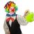 vrouwelijke · clown · gieter · geïsoleerd · witte · meisje - stockfoto © elnur