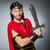 ősi · római · tőr · katonaság · fehér · izolált - stock fotó © elnur