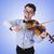 молодые · музыканта · скрипки · изолированный · белый · музыку - Сток-фото © elnur