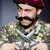 funny soldier against the dark background stock photo © elnur