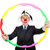 zakenman · clown · geïsoleerd · witte · business · partij - stockfoto © elnur
