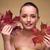 gyönyörű · nő · aranyos · mosoly · természetes · smink · fürdő - stock fotó © elnur