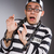 парень · наручники · револьвер · изолированный · знак · прав - Сток-фото © elnur