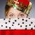 coroa · cinza · negócio · mulher · menina - foto stock © elnur