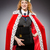 Frau · Königin · funny · Business · Arbeit · Geschäftsmann - stock foto © elnur