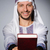 arab man with book in diversity concept stock photo © elnur