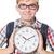étudiant · manquant · horloge · blanche · éducation - photo stock © elnur