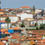 luchtfoto · Portugal · skyline · oude · binnenstad · daglicht · water - stockfoto © elnur