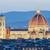 Флоренция · Cityscape · сумерки · небе · закат · Церкви - Сток-фото © elnur