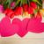 пусто · копия · пространства · настоящее · розовый · белый - Сток-фото © elnur