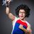 ボディービルダー · 行使 · 上腕二頭筋 · ダンベル · 若い男 - ストックフォト © elnur