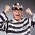 funny · Gefangener · Gefängnis · Mann · Recht · Ball - stock foto © elnur