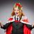 vrouw · koningin · zakenvrouw · grappig · werk · zakenman - stockfoto © elnur