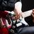 férfi · játszik · gitár · koncert · zene · buli - stock fotó © elnur