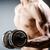 izmos · testépítő · súlyzók · sport · fitnessz · egészség - stock fotó © elnur
