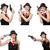 女性 · 暴力団 · 拳銃 · 白 · セクシー · モデル - ストックフォト © elnur