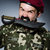 funny · soldado · humor · hombre · fondo · arma - foto stock © elnur