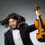 homem · violino · jogador · diversão · soar · masculino - foto stock © elnur
