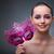 carnaval · masque · musique · papier · rose - photo stock © elnur