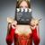mulher · vestido · vermelho · filme · conselho · fundo · arte - foto stock © elnur