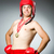 funny boxer with winning gold medal stock photo © elnur